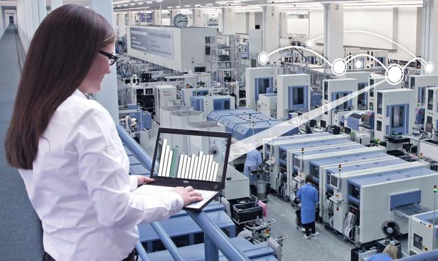 The modern smart factory wireless data capturing