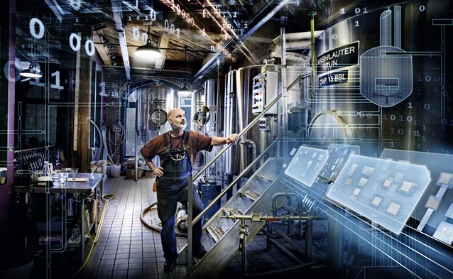 the modern smart factory